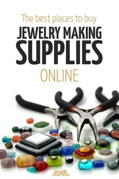 The best places to buy beads online - narrowed down to the top one for each category! You'll love this amazing DIY jewelry making resource!