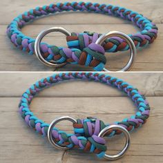 8 Strand Rope Training Slip Collar ~ Choose up to 4 Colors!! by BrodsParacord on Etsy