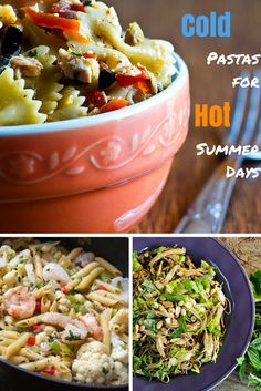 Cold pasta has never been so tasty! Try one of Rachael's 6 recipes that are perfect for the summer.