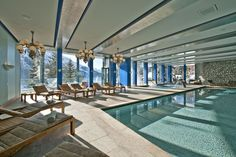 Indoor Pool in St Moritz