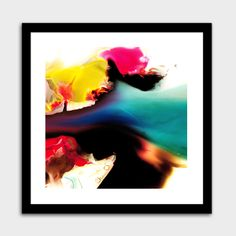 """""""Color the world"""", Numbered Edition Fine Art Print by Pier Mahieu - From $39.00 - Curioos"""