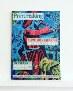 The new Printmaking Today is out from @cellopress #printmaking #print  #screenprint #etch #letterpress #medieval #clivehicksjenkins #fabiolattanziantinori #volkhardtmuller #artist