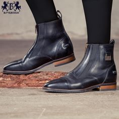 Luzianna paddock boots from B Vertigo would be handsome with jeans and a sweater.