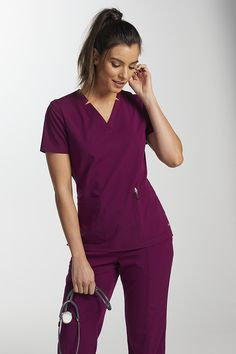 The Motion by Barco Jill 3 Pocket Shaped Leg Cargo Scrub Pants are made with stretch fabric and roomy pockets. Shop for yours at Scrubs & Beyond. Medical Scrubs, Nursing Dress, Business Organization, Scrub Pants, Scrub Tops, Dress Designs, Caregiver, Stretch Fabric, Fashion Forward