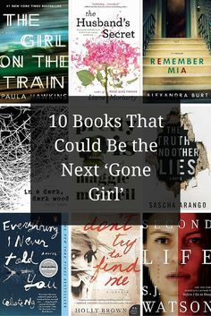 10 Books That Could Be the Next 'Gone Girl'