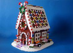 LEGO Ideas - Gingerbread House Legos, Lego Christmas Village, Christmas Candy, Lego Gingerbread House, Christmas Gingerbread, Lego Hacks, Casa Lego, Construction Lego, Lego Club