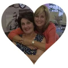 My mom and me April 2015