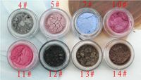 Profesional Mineral maquiagem hihglights brillo sombra de ojos maquillaje maquillaje escénico placa polvo del brillo del paillette Envío Gratis