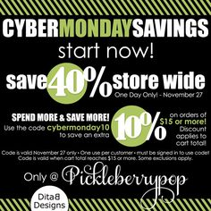 DitaB Designs: CU and PU products by DitaB Designs 40% OFF(does ...