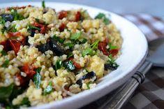 Blog kulinarny z przepisami na Thermomix i nie tylko. : Kasza jaglana z suszonymi pomidorami i słonecznikiem