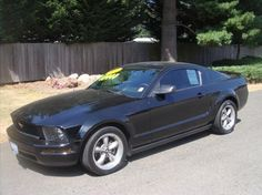 2005 mustang w pony package. 5 speed manual t5 transmission