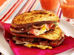 Breakfast jaffle, egg recipe, brought to you by Australian Table