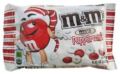 M's White Chocolate Peppermint are the best. I bought them at Target for only $0.89 per bag, after Christmas. I must go and stock up before they sell out.