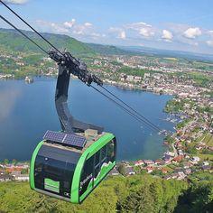 Grünberg Seilbahn in Gmunden am Traunsee Berg, Places To Visit, Hiking, Destinations, Viajes