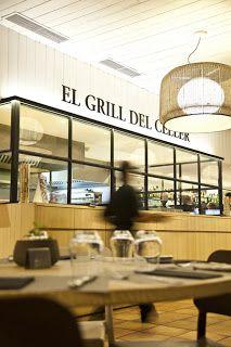 Restaurant El Grill del Celler,Peralada Cafe Bistro, Restaurants, Interior Design, Architecture, Eat, Inspiration, Wine Cellars, Projects, Diners