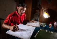 Photo of the Week: Illuminating homes and opportunity in Honduras  Throughout Honduras, 2.5 million people lack access to reliable sources of electricity. Families are dependent on expensive and unhealthy kerosene lamps and candles to light their homes at night.  We are working to change this reality by bringing solar lighting to families in Central America.  (photo by Darren Mahuron/ Summit Studios)
