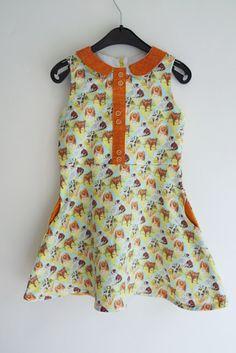 Ileana dress - compagnie m - ZowieZo Handmade