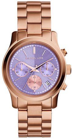 6734d234950c MICHAEL Michael Kors Michael Kors  Pink Catwalk  Chronograph Watch