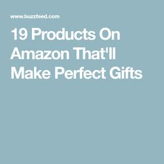 19 Products On Amazon That'll Make Perfect Gifts Buzzfeed Gifts, Mini Doughnuts, Amazon Gifts, Things To Buy, Gift Ideas, Amazon Products, Creative Ideas, Amazing, Garden
