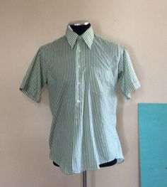 A personal favorite from my Etsy shop https://www.etsy.com/listing/232049222/vintage-crowleys-green-striped-short