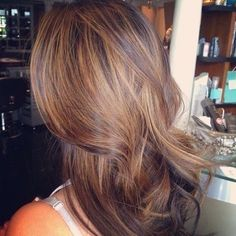 brown hair with soft highlights by isabelle07