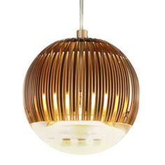 TOM DIXON Fin Pendant Light - Round. A unique and innovative luminaire.