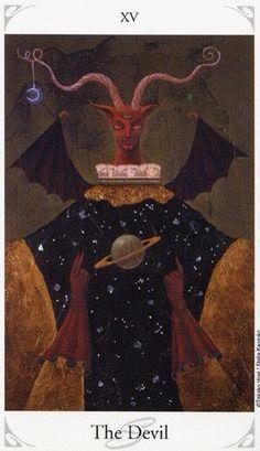 The devil, tarot