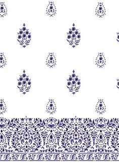 Inspiration for curtain stencil for craft room.
