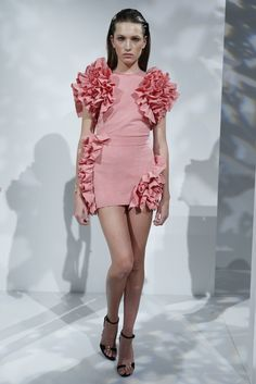 Pedro del Hierro RTW Spring 2015 [Photo by George Chinsee]