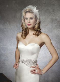 985b63f5b5a0c Justin Alexander wedding dresses style 8659 A strapless regal satin mermaid  is adorned with a beaded