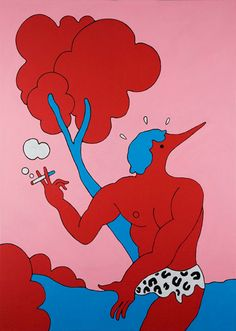 """Another piece by Parra """"Tarzan Interrupted."""""""