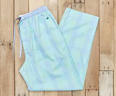 Savannah Gingham Lounge Pant by Southern Marsh