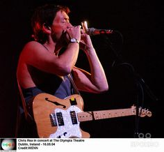 Chris Rea in concert at The Olympia Theatre