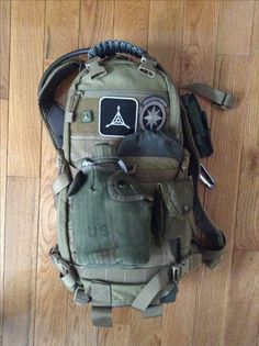 My BOB, hiking companion and plain 'don't leave home without it bag'. The world…