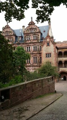 Heidelberg Castle. Heidelberg Schloss, GERMANY