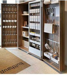 Kitchen cabine... Pour un rangement optimisé
