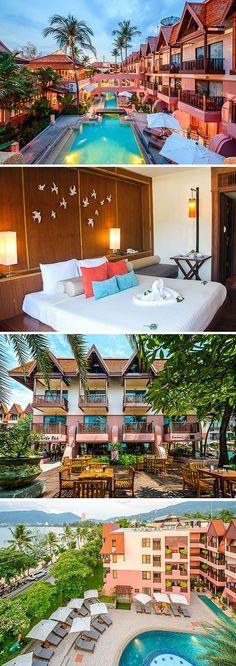 Seaview Patong Hotel is een kleinschalig viersterrenhotel aan de rand van Patong, op het Thaise eiland Phuket. Zoals de naam al doet vermoeden, heb je vanaf hier direct uitzicht op zee. En je stapt ook nog eens zo het strand op. Ideaal voor een strandvakantie in Thailand!