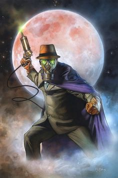 Golden Age Sandman by Tom Fleming