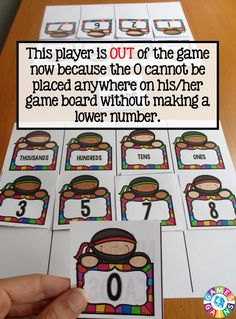 Try this fun and easy place value game for FREE at games4gains.com!