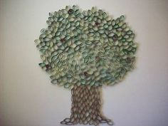 Trees > to Toilet Paper Rolls > and back to a tree again - CRAFTSTER CRAFT CHALLENGES