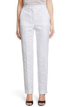 GIVENCHY Floral Jacquard Pants. #givenchy #cloth #