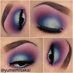 Another gorgeous look from the amazing Yumemi Sakai, this one featuring our Sasha lashes! Daily Eye Makeup, Smokey Eye Makeup, Everyday Makeup, Makeup Eyeshadow, Makeup Inspo, Makeup Art, Makeup Inspiration, Beauty Makeup, Hair Makeup