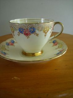 Foley Tea Cup And  Saucer tick