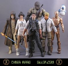 This guy does crazy-awesome work; somebody get him a contract with Kenner or Matell!