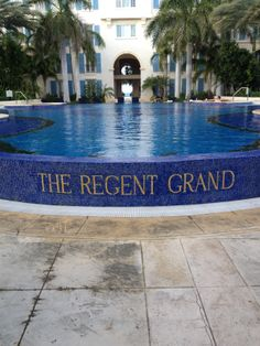 The Regent Grand Resort Turks And Caicos, Travel And Tourism, Great Places, Hotels, Outdoor Decor