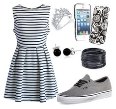 """""""Untitled #328"""" by camilastyles-12 ❤ liked on Polyvore featuring Vans, Chicwish, Vera Bradley, ABS by Allen Schwartz, Victoria Kay and Bling Jewelry"""