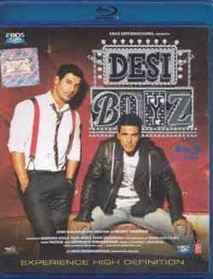 Nice Desi Boyz Hindi Blu Ray 2011 Movie Bollywood Film Indian Cinema