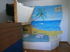 DIY naval theme boy bedroom. For instructions and how to http://mella-crafts.weebly.com/