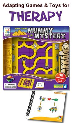 Apply visual perceptual skills in this exciting maze game. Ideas for use in therapy.