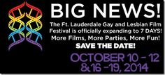 Ft. Lauderdale Gay and Lesbian Film Festival now seven days, with screenings Oct. 10-12 and 16-19